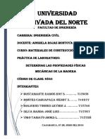 Practica Madera