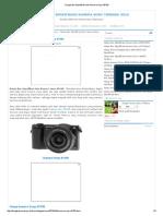 Harga Dan Spesifikasi Dan Kamera Sony A5100
