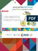 Pase a La Equidad en Salud [Fundamentos & Conceptos] 2015