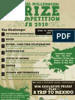 Global Millennium Prize Competition - SA 2010