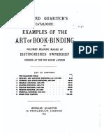 Art of Bookbinding