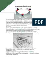 Principios de Conservación de La Energía Dinamica
