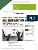 Cinco Retos Que AfronEl Comercio Peru
