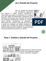 ANALISIS Y ESTUDIO DE PROYECTOS