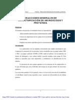 05 Reacciones Aminoácidos Proteínas