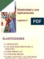 5. La Elasticidad y Su Aplicación