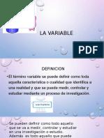 La Variable 2