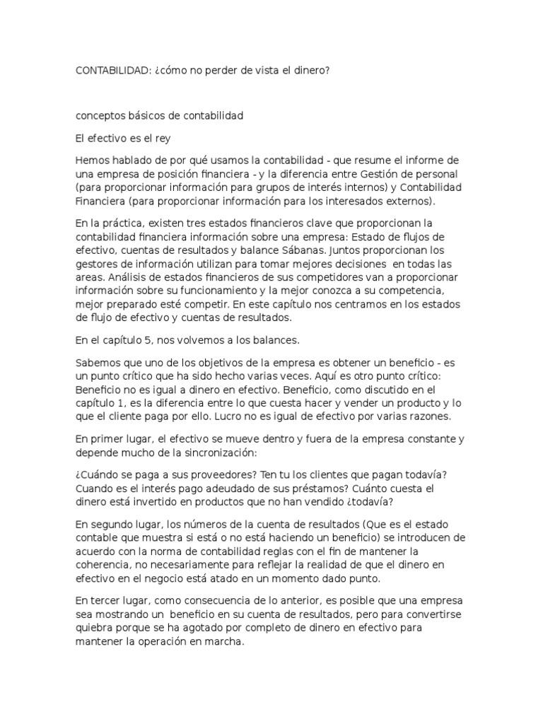 Magnífico Muestra Resume Objetivos Contabilidad Galería - Ejemplo De ...