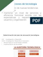 ACTUALIZACION DE TECNOLOGIA