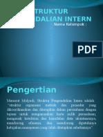 Struktur Pengendalian Intern Ppt