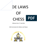 Fide Laws of Chess 2014 UPDATE