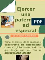 taller para padres de hijos con discapacidad