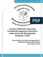 Folleto Ciencia de Materiales I