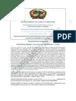Compromisso Arbitral Barbara Editado e Publicado