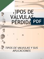 Hidraulica VALVULAS PERDIDAS