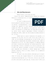Fallo completo - La Corte sostuvo que es inconstitucional que la AFIP disponga embargos