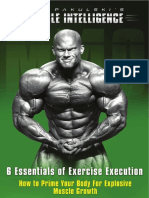 Ben Pakulski's 6 Essentials of Exercise Execution