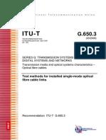 T-REC-G.650.3-200803 Métodos de prueba de secciones de cable de fibra monomodo instaladas.pdf