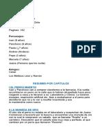 Ficha Del Libro Los Pecosos