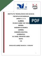 Ingenieria Economica Unidad 1-2-3-4