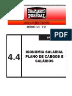 04-4 Plano de Cargos e salário