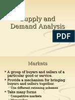 Economics-Supply and Demand