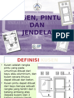 Power Point Pintu dan Jendela