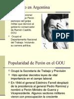 Populismo en Argentina