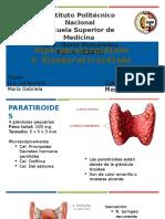 Hiper e Hipoparatiroidismo
