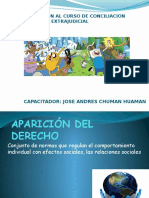 Introduccion Al Curso de Conciliacion Extrajudicial