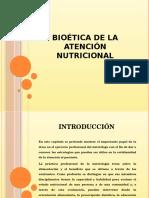 Bioética de La Atención Nutricional