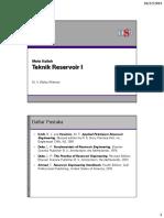 1 Pendahuluan Dan Review Sifat Fisik Batuan Dan Fluida Reservoir