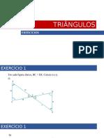 Semelhança de Triângulos Exercicios