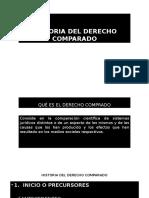 Diapositivas Historia Del Derecho Comparado