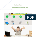 Advertising Test Bank Solutions Manual
