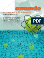 Nanomundo La Importancia de Lo Pequeno