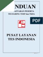 PANDUAN PENDAFTARAN PESERTA TES PLTI Tahun 2016.pdf