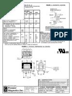 POL-15020 TOP226Y Transformer