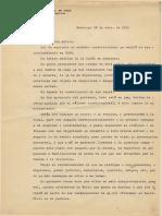 Carta de Manuel Balmaceda a Su Esposa