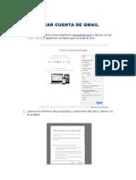 Creacion Cuenta Gmail
