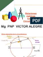 relaciones metricas`de  la circunferencia
