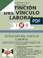 Extincion Del Vinculo Laboral