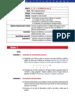 planificacion 2° Basico