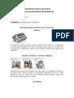 Materiales Resistente Del Vehiculo