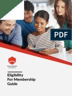 Guide for Engineers Australia Memebership