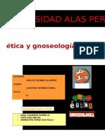 Ética y Gnoseología