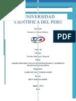 Antecedentes e Historia de Las Municipalidades en El Perú (Trabajo)