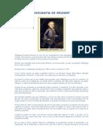 Biografía de Mozart y Bethoven