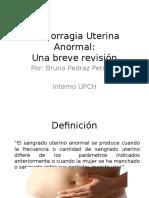Hemorragia Uterina Anormal