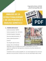 Evidencia no. 2 Análisis de una nota periodística
